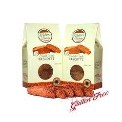 Melike′s Bakery - FINDIK UNLU, GLUTENSİZ VANİLYALI BISCOTTI - 130 gr
