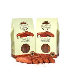 Melike′s Bakery - FINDIK UNLU, VANİLYALI BISCOTTI - 130 gr